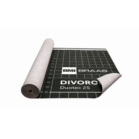 Braas Divoroll DUOTEC 2S 50x1,50m UDB-A,USB-A mit  Doppel-Klebezone 1105863