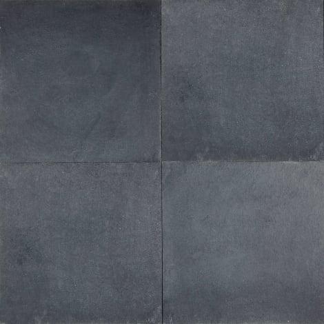 Panther Garden & Living - Kalksteinplatten Ciudad Real schwarz spaltrau / gesägt Unterseite gefräst 1063591