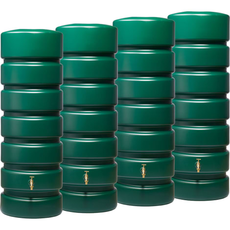 CLASSICO SET 2600 L, grün 4 x CLASSICO 650 L, inkl. Verbinder 1053829