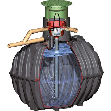 CARAT/PLATIN XL/XXL - Ausbaupaket 2 Universal-Filter 3 XL Intern DN 150 1053989