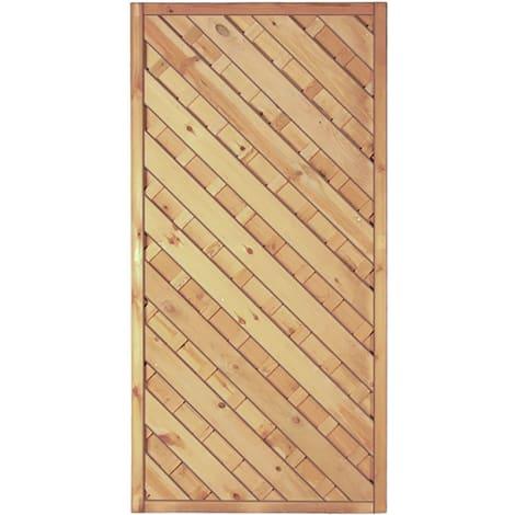 T&J Maxi-Diagonal-Serie 1 grün 90 x 180 cm  Rahmen 45/45 mm, Lamellen ger.& geschr. 1009436