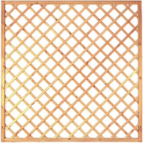 T&J Diagonal-Rankzaun grün 10 x 10 cm   180 x 180 cm  Rahmen 45/45 mm 1009438