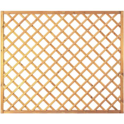 T&J Diagonal-Rankzaun grün 10 x 10 cm   180 x 150 cm  Rahmen 45/45 mm 1009439