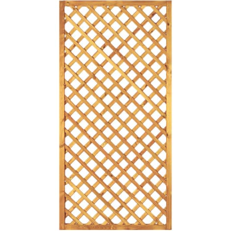 T&J Diagonal-Rankzaun grün 6 x 6 cm  90 x 180 cm  Rahmen 45/45 mm 1009441