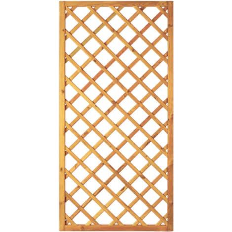 T&J Diagonal-Rankzaun grün 10 x 10 cm   90 x 180 cm  Rahmen 45/45 mm 1009445