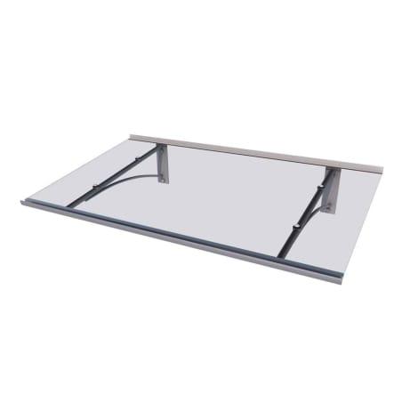 Scobalit Pultvordach Typ PT/GR 160 x 90 x 27cm, Acrylglas 4 mm 1115254
