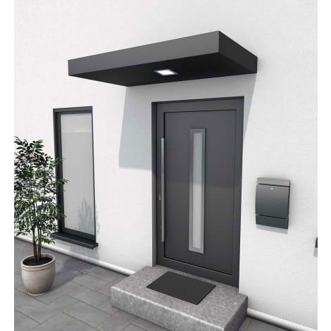 Scobalit Rechteckvordach, anthrazit, Aluminium 1115263