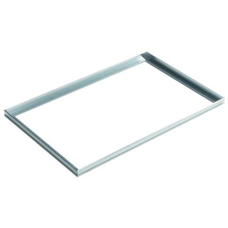 ACO Vario Winkelrahmen 60x40 cm Steckprofil Aluminium Natur  1044449