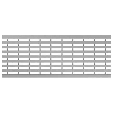 ACO Profiline 0,5m Längsstegrost Edelstahl für Baubreite 13 cm 1004380