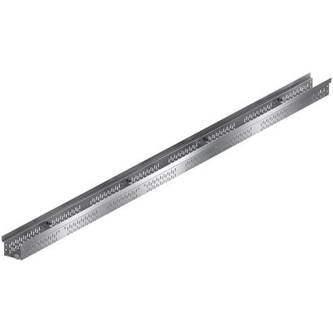 ACO Profiline 2,0m fixe Bauhöhe 7,5cm Edelstahl Baubreite 20 cm 1004485