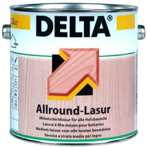 Dörken Delta Allround - Lasur ebenholz - 2,5 Liter 1004029