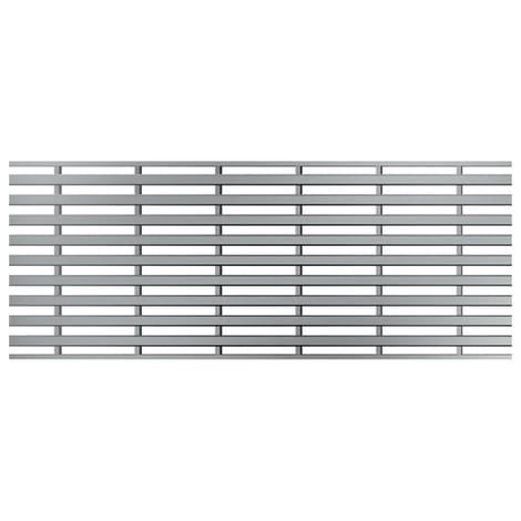 ACO Profiline 1,0m Heelsafe (grob) Edelstahl für Baubreite 13 cm 1004367