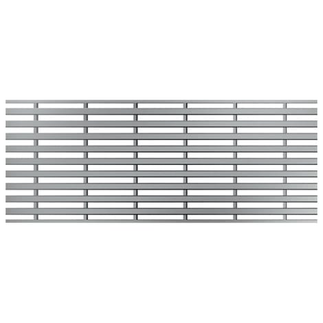 ACO Profiline 0,5m Heelsafe (grob) Edelstahl für Baubreite 10 cm 1004343