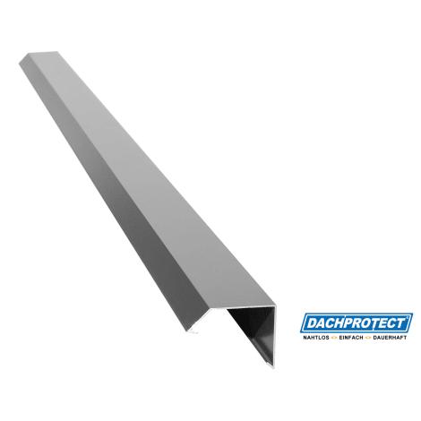 Dachrandprofil ISOS 195cm in weissaluminium 1052703