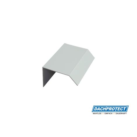 Verbinder ISOS Dachrandprofil in weissaluminium 1052706