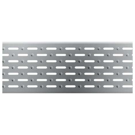 ACO Profiline 1,0m Längsschlitzrost Edelstahl für Baubreite 13 cm 1004373