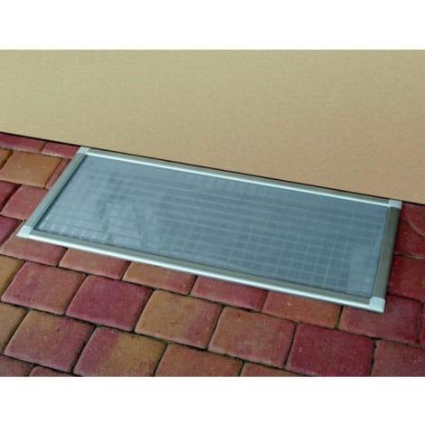 ACO Laub- und Insektenschutzgitter für Lichtschächte 115x60 cm 1044382