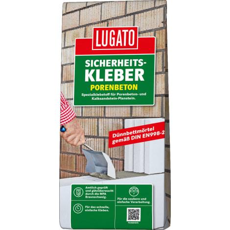 LUGATO SICHERHEITSKLEBER PORENBETON 1056437