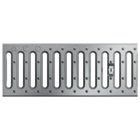 ACO Profiline 1,0m Stegrost Edelstahl für Baubreite 13 cm 1004361