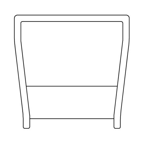 NATURinFORM Seitenleiste 1,80 m - 1 Stück 1065045