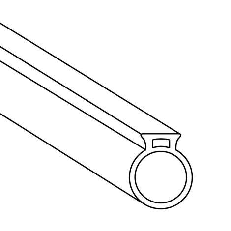 NATURinFORM Fugenprofilschlauch bündig | 50 - 100 Meter Länge 1065028