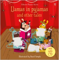 Phonics Stories: Llamas in pyjamas and other tales (avec CD audio)