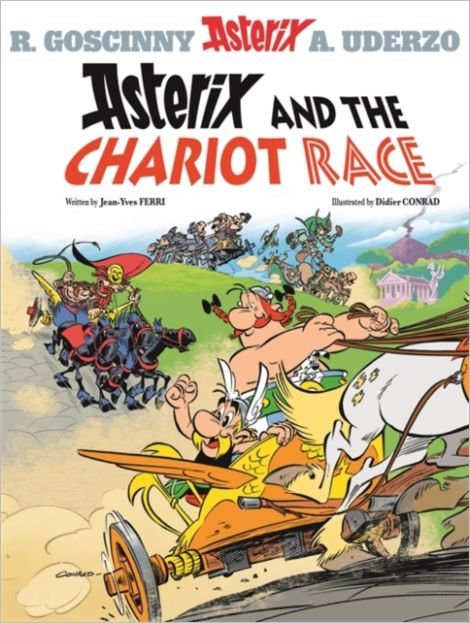 Vol. 37 - Asterix and the Chariot Race