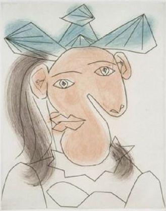 Tète de femme No. 7 - Portrait de Dora Maar