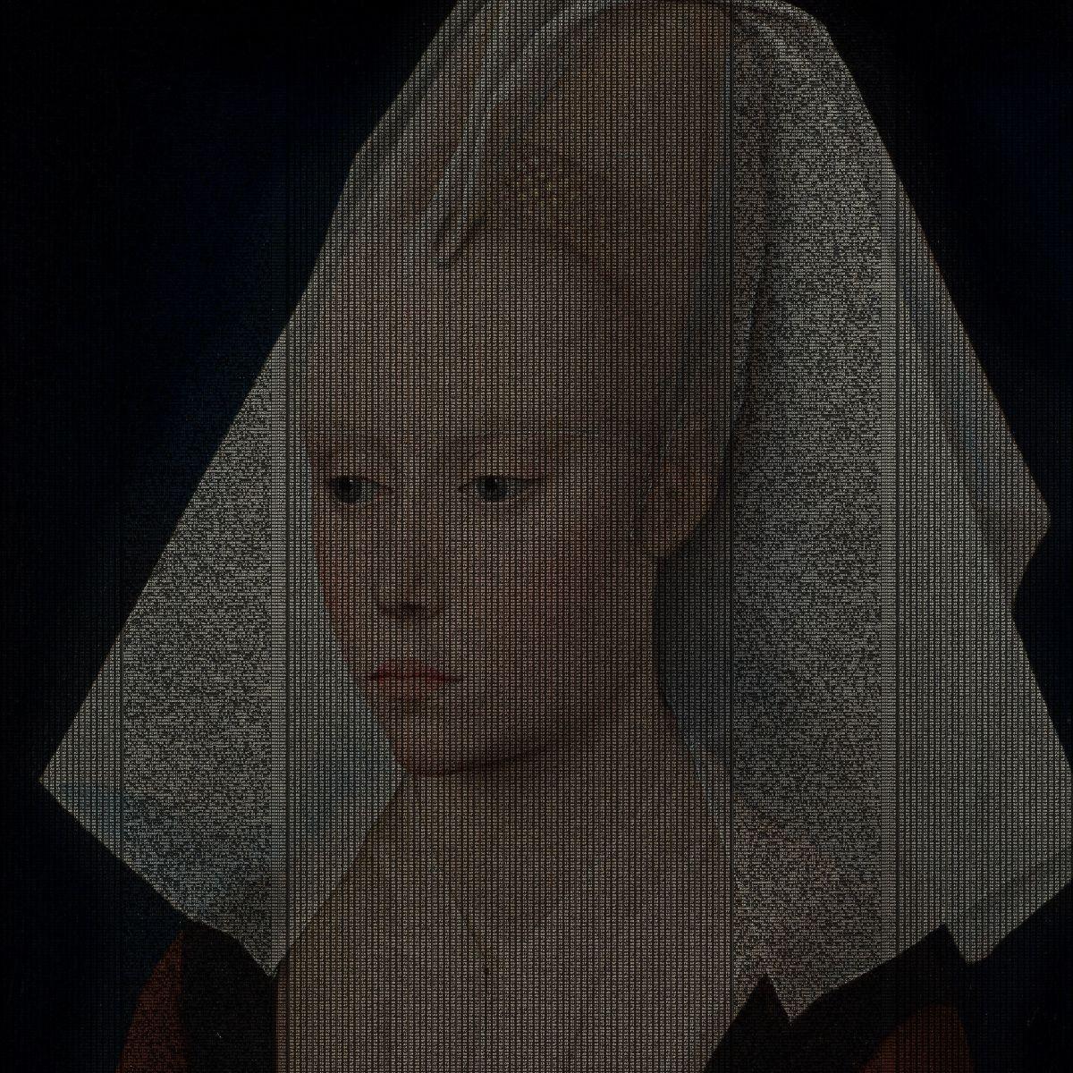 Rogier van der Weyden,  Portrait d'une jeune femme, c.1460