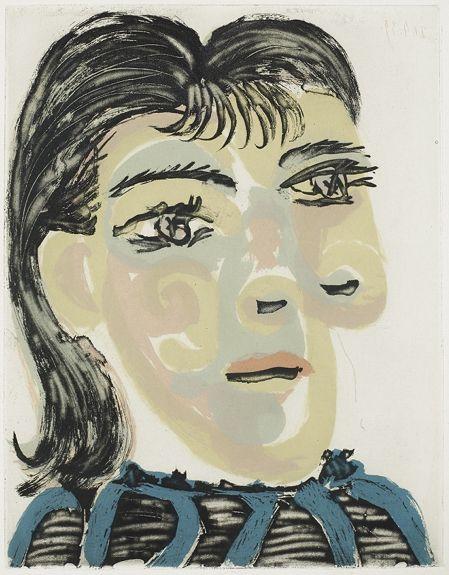 Tête de Femme No 2 - Portrait de Dora Maar