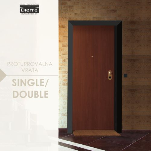 protuprovalna vrata single/double