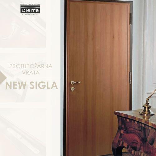 Protupožarna vrata new sigla