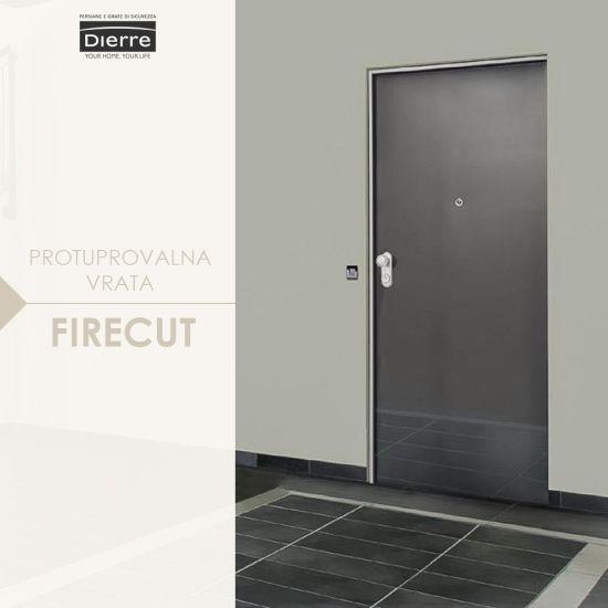 protuprovalna vrata firecut