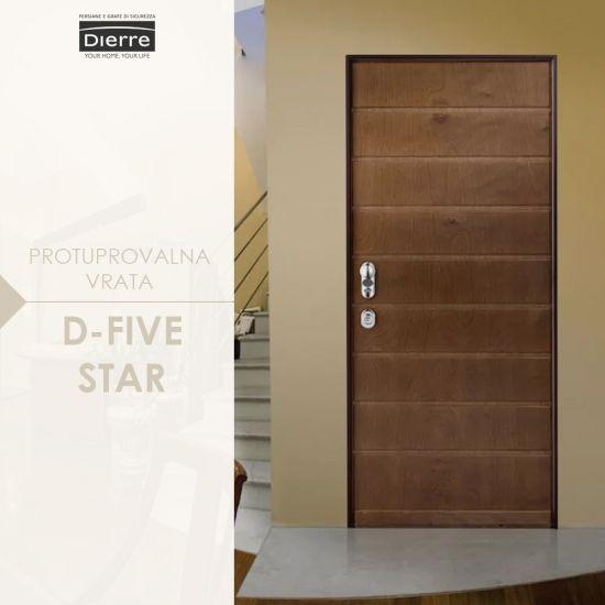 Protuprovalna vrata d-five stars