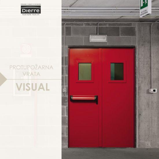 protupožarna vrata visual