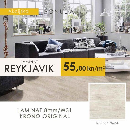 laminat akacija hrast reykjavik