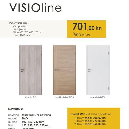 Sobna vrata akacija visionline
