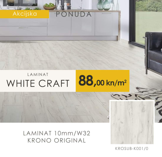 Laminat WHITE CRAFT