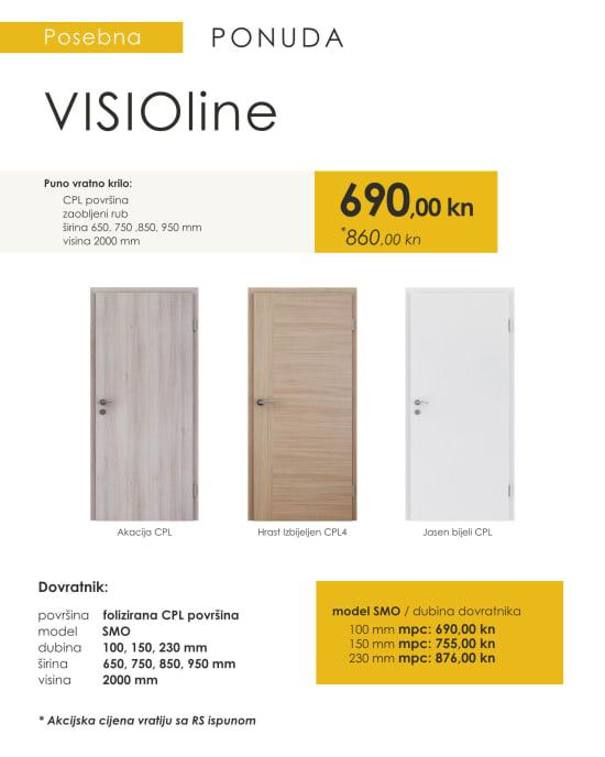 Sobna vrata VISIOline