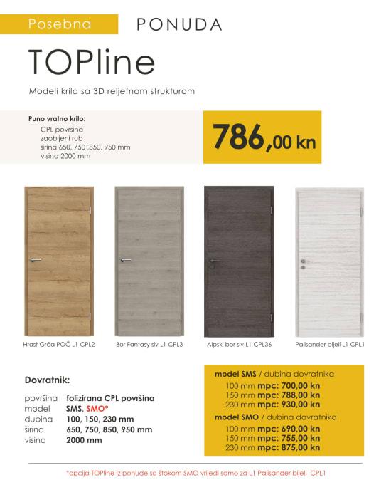 Sobna vrata TOPline