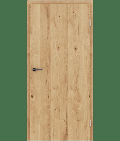 GREENline - hrast grča pukotina mat luženi lakirani
