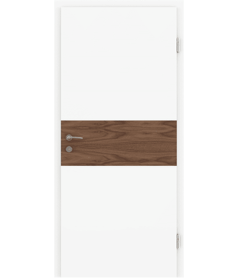 BELLAline - I39R72L bijelo obojeno, umetak orah