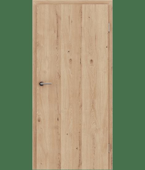 GREENline - hrast grča pukotina brušeni mat luženi lakirani