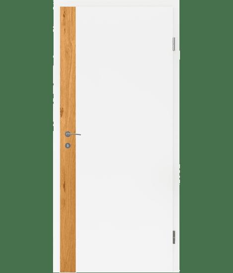 BELLAline - F5R33L bijelo obojeno, umetak hrast grča