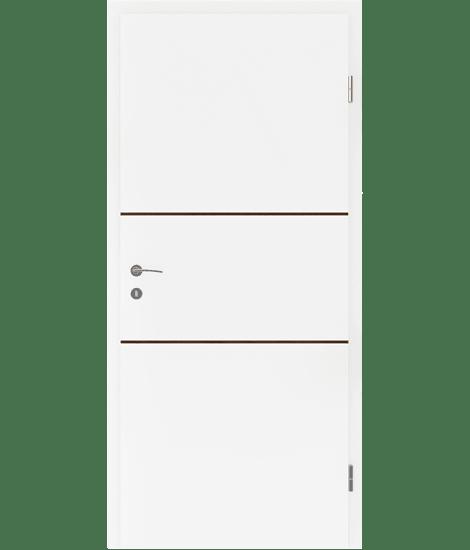 BELLAline - FN2 bijelo obojeno, umetak orah