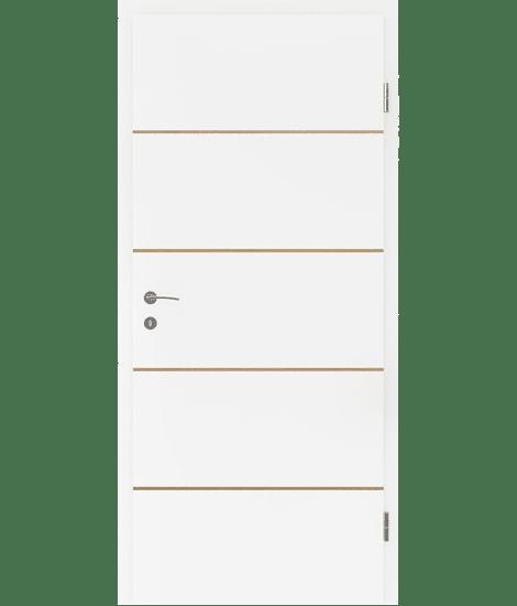 BELLAline - FN1 bijelo obojeno, umetak hrast