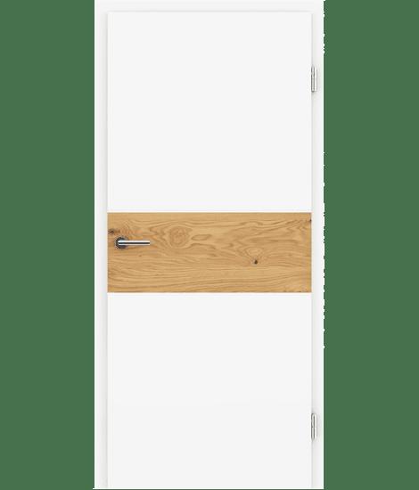 BELLAline - I39R72L bijelo obojeno, umetak hrast grča