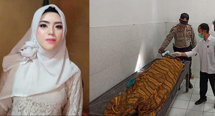 Korban SS yang tewas di tangan suaminya. Foto Ist/Aef Hendy