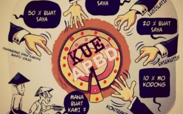 Karikatur APBD. Foto Int