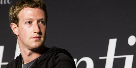 CEO Facebook Mark Zuckerberg. Foto Istimewa